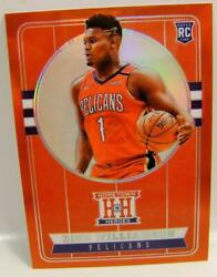 Zion Williamson Rc Hh Heroes /149 Red Chronicles Panini Basketball 2019-20 2020