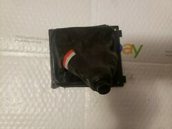 91 92 93 94 95 Audi S4 S6 Black Leather Racing Shifter Boot Genuine Oem