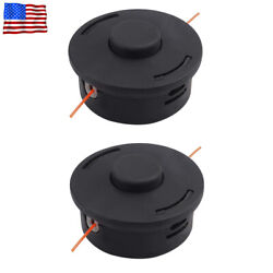 Trimmer Head 2 Pack For Stihl Trimmer Bump Heads Autocut 25-2 String Trimmers