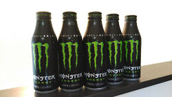 Monster Energy Empty Can Full Bottle Open 5pc Collection Set Japan Fast Shipping