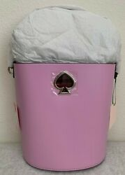 NWT Kate Spade Suzy Small Bucket Leather Bag $298 PXRUA406 Original Packaging $109.00