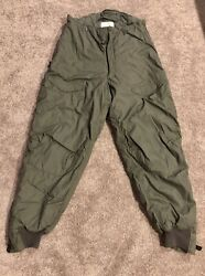 Oef Us Air Force F-1b Trousers Pilot Extreme Cold Weather Mil-t-6284k Usaf 38