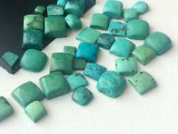 Natural Tibetan Turquoise Loose Gemstones 21mm To 25mm Square Shape Cabochon