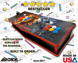 Custom Tabletop Arcade W/ +15k Retro Games, Ships Assembled Just Plug And Play