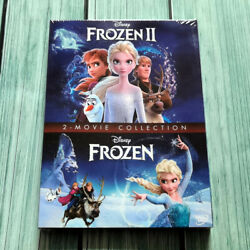 Frozen 1 amp; 2 2 Movie Collection DVD NEW Family Adventure Ships 1st Class
