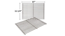 Gas Grill Grates Stainless Steel Cooking Replacement Weber Spirit Genesis Silver