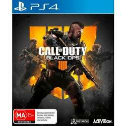 Call Of Duty Black Ops 4 Playstation 4 Ps4 - Free Shipping - Used