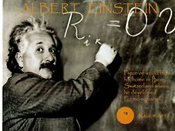 Albert Einstein Piece Of Wood From His Home Encapsulated Todd Mueller Coa