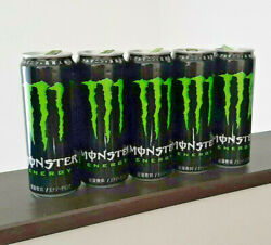 Monster Energy Japanese Slim Empty Can Open 5pc Set Japan Import Fast Shipping
