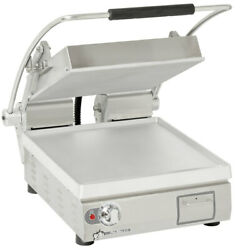 Star Pst14t Pro-max 14 Panini Grill Smooth Alum. Plate Electronic Timer