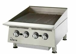 Star 8124rcbb Ultra-max 24 Wide Countertop Radiant Gas Charbroiler