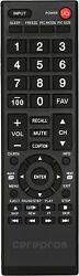 Universal Replacement Remote For Toshiba Tv