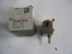 New Nos Gm Chevrolet Diesel Fuel Injection Pump Cold Solenoid 15529646