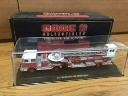 Code3 Fire Truck Car Ladder7 Near Unused F/s From Japan
