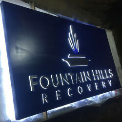 Custom 6and039and039 Lighted Signboards Led Reverse Signs 3d Outdoor Metal Channel Letters