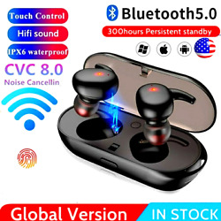 Audifonos inalambricos Bluetooth 5.0 Auriculares Para For iPhone Samsung Android $11.99