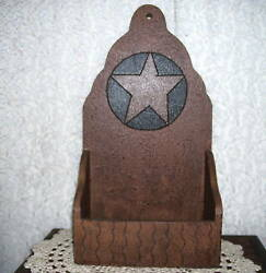 Primitive Country Wall Or Tabletop Decor