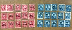 Scott 647 And 648 Hawaii 2andcent And 5andcent Overprint 15 Sets Of 2 Mh 1928 Cv Scott 225
