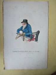 Vintage Engraving,lord Dashalong, Pub'd.1801,robt.dighton,1752-1814,hand Colored