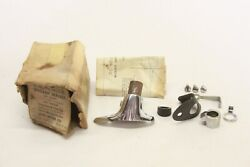 Nos 1952 Lincoln Convertible And Hard Top Spotlight Bracket Kit Fac-18155-a Lh