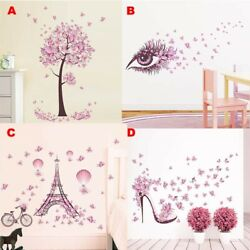 Family Quote Removable Wall Stickers Art Vinyl Decal Mural Flower Bedroom Decors