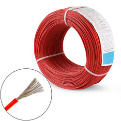 14awg Ul3239 Rubber Silicone Wire 200℃ 600v Tinned Copper Cable Wire Black Red
