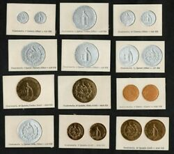 Guatemala 1925 / 1926 Coins Card. Maybe Play Cards Or Specimen
