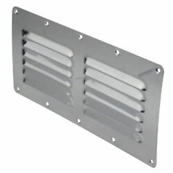 9 X 4 1/2 Inch Stainless Steel Boat Louvered Vent Cover