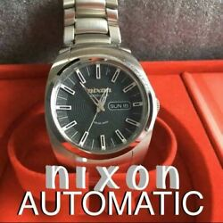 Limited Nixon Automatic Swiss Made Menand039s Watch Shipped From Japan