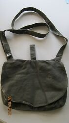 Vintage Ww2 Wwii Swedish Ammo And Ration Breadbag With Carry Strap