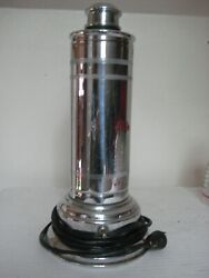 Antique Silver Martini/coctail Electric Blender--kobzy Tool, Chicago