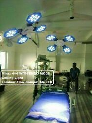 Examination And Surgical Led 4+4 Operation Theater 180000+lux Light Endo Mode Edf
