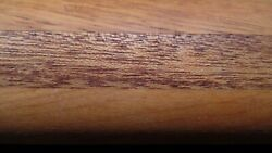 Lathe Turned Maple Wooden Rolling Pin With Incised Handles