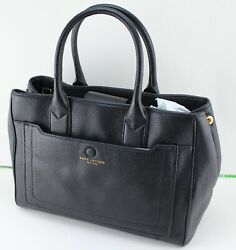 NEW AUTHENTIC MARC JACOBS LEATHER BLACK HANDBAG TOTE SATCHEL WOMEN#x27;S M0013044 $229.99