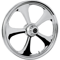 Rc Components - 23375-9031a-92c - Nitro Front Wheel Dual Disc 23x3.75in. - Ch