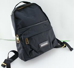 NEW AUTHENTIC MARC JACOBS VARSITY BLACK NYLON BACKPACK HANDBAG WOMEN#x27;S M0013946 $109.99