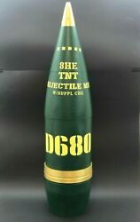 8he 203mm D680 Tnt Howitzer Artillery Shell Projectile Replica - Life Size