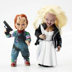 Childs Play Bride Of Chucky - Chucky And Figure Box Set