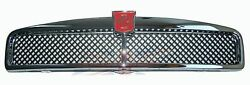 New Metal Chrome Mgb Front Grille Assembly 1963-1974 Black Mesh Made In Uk