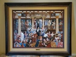James Christensen All The World's A Stage Limited Edition Framed Canvas