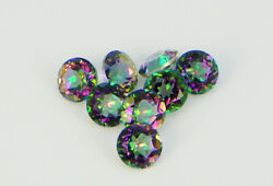 Natural Mystic Opal Loose Gemstones Round Shape Facted Cut 16mm To 20mm Amazing