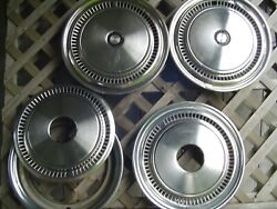 16 In 4+4 Vintage Pickup Truck Power Wagan Dodge Chrysler Plymouth Hubcaps Mopar