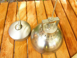 Vintage Steam Style Hanging Pendant Silver Lamp Fixture Retro Industrial Cool Jz