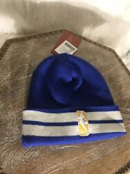 Mens Denver Nuggets Retro Mitchell And Ness Winter Beanie Hat
