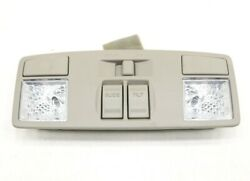 New Oem Ford Overhead Console Stone Be8z-58519a70-aa Fiesta W/ Sunroof 2011-2019