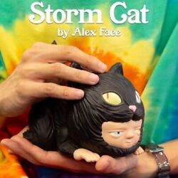 Mighty Jaxx Alex Face Storm Cat Limited Collectible Figure Hot Toy New Stock