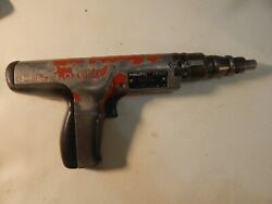 Hilti Dx 350 Powder Actuated Nail Fastener Tool Concrete Nailer Cement