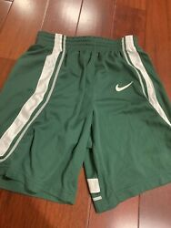 Nike Authentic Michigan State Spartans Green Shorts