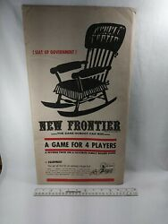 New Frontier Anti Jfk J.f.k John And Jackie Kennedy Board Game 1962