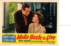 Make Haste To Live 1954 Original Release Lobby Card Dorothy Mcguire +++++++